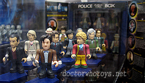 Doctor Who Character Building Eleven Doctors Micro Figure Set