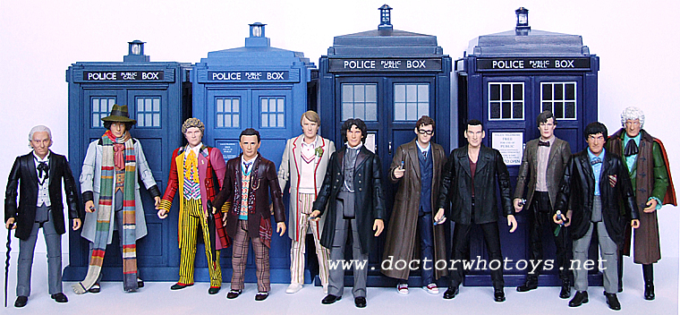 "Brand New Boxed Set De DR WHO figures/"" 1970s/' Set de collection 4th Docteur"