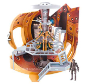 doctor who action toys flight control tardis. Black Bedroom Furniture Sets. Home Design Ideas