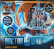 Dr Who Tardis Playset Box Reverse