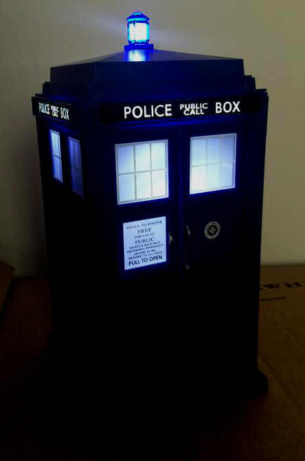 Twelfth Doctor Flight Control Tardis