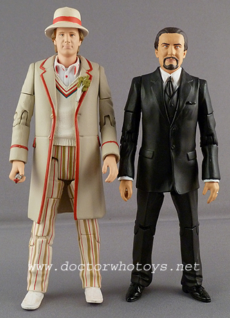 Fifth Doctor and The Master