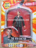 Series 1 The 9th Doctor figure (burgundy shirt)