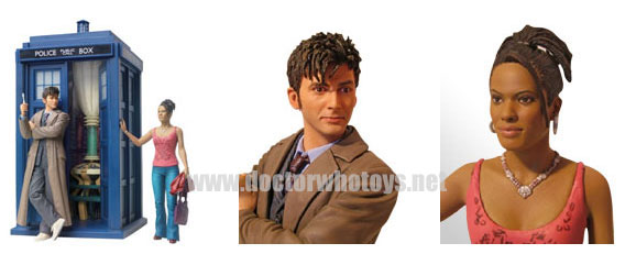 Airfix Doctor Who Tardis and Figures