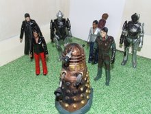 Customised Doctor Who Action Figure Army