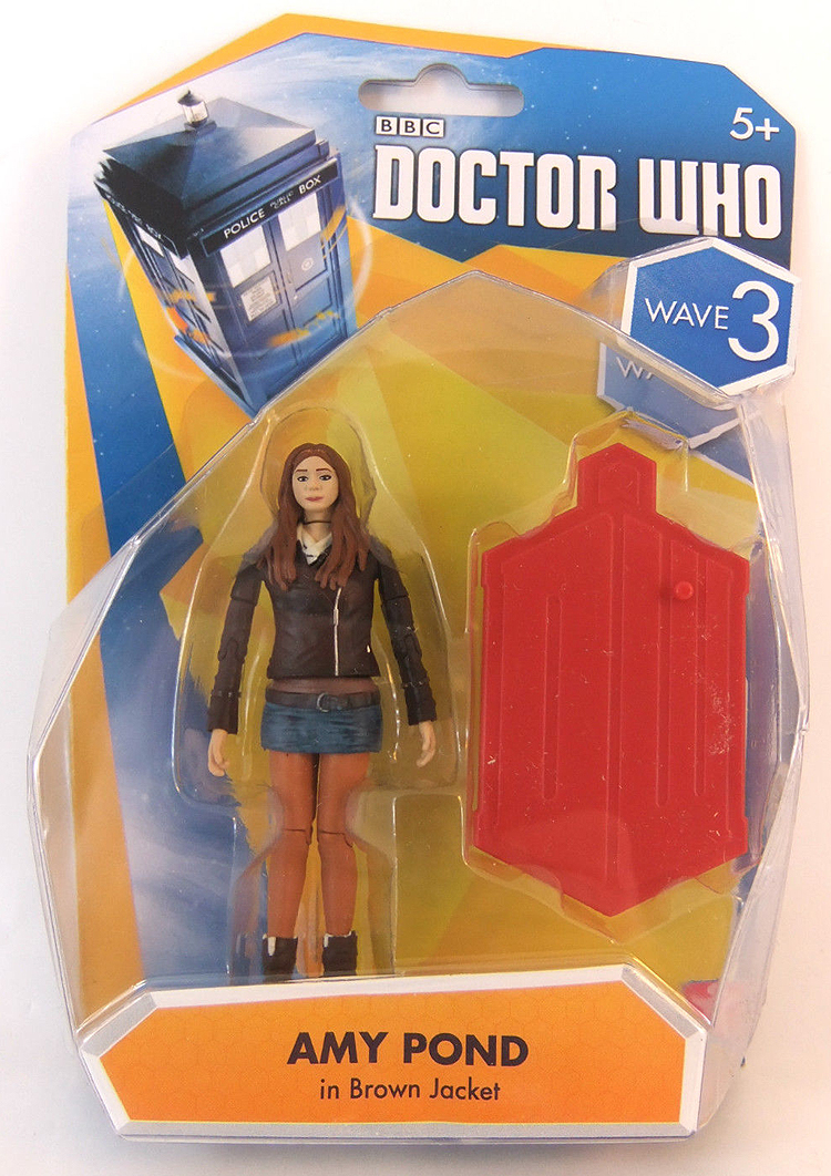 Amy Pond in Brown Jacket