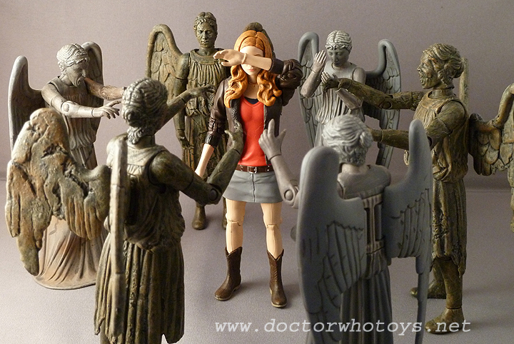 Amy Pond & Weeping Angels