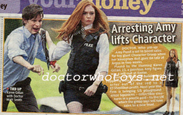 Character Announce Amy Pond Argos Exclusive