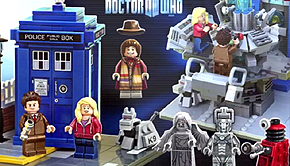 Andrew Clark Doctor Who Lego Design