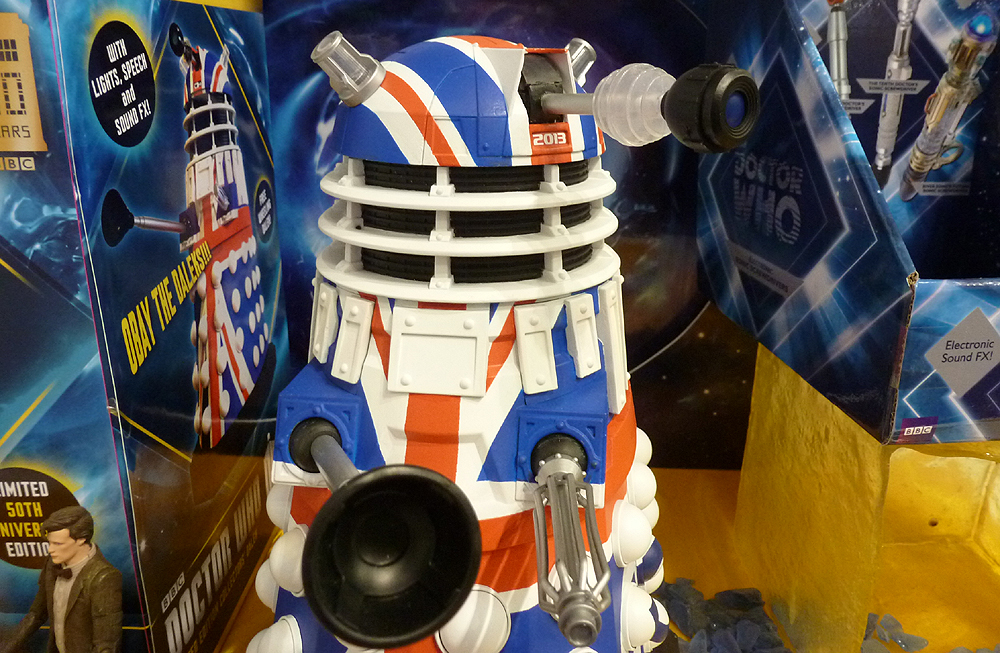 Limited Edition 50th Anniversary Collector's Dalek