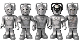 Cyberman 5 Figure Pack