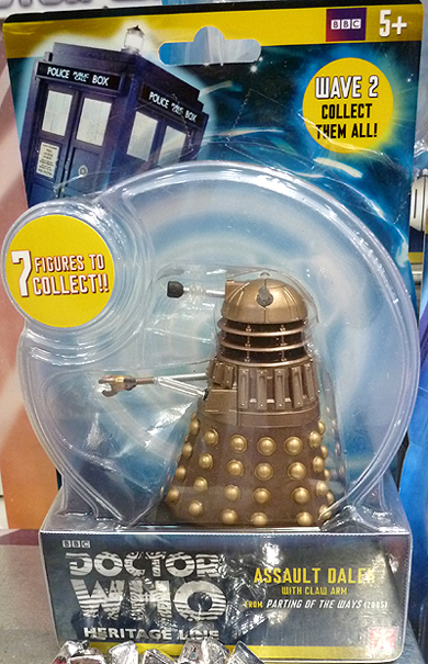 Doctor Who Heritage Line Assault Dalek With Claw Arm