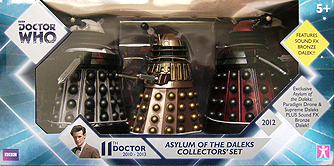 Asylum of the Daleks Set