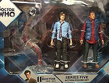 Series 5 Set with Prisoner Zero, Raggedy Doctor & Rory Williams