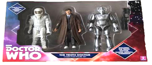 Tenth Doctor Set with Vashta Nerada, Tenth Doctor and Cyberman figures