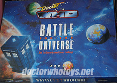 Doctor Who Battle for the Universe - Thanks Ian O