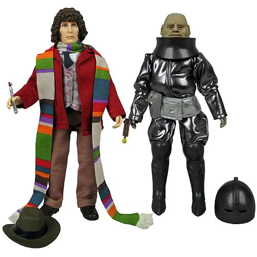 Bif Bang Pow Fourth Doctor and Sontaran Styre