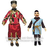 Bif Bang Pow Magnus Li H'sen Chang and Mr Sin Doctor Who Retro Figures