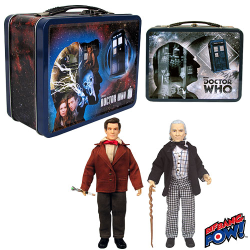 Bif Bang Pow First Doctor & Eleventh Doctor