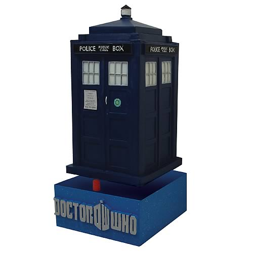Bif Bang Pow Tardis Bobble Head