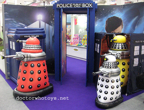 Inflatable Daleks by Grossman