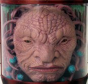 Face of Boe with animatronic mouth - closed