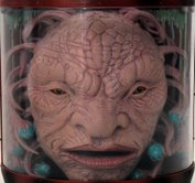 Face of Boe - mouth open