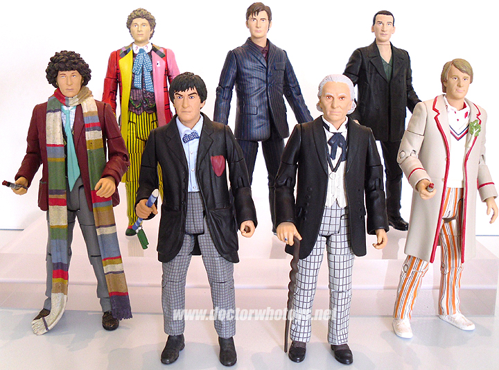 Doctor Who  Action Figures - Classic Doctors
