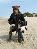 Jack Sparrow 12 inch by Zizzle (Pirates of the Caribbean, Johnny Depp) and The Doctor