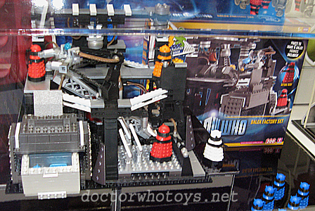 Doctor Who Character Building Dalek Factory Set