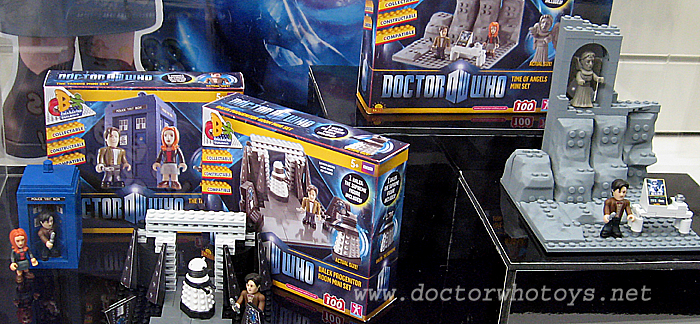 Doctor Who Character Building Mini Playsets