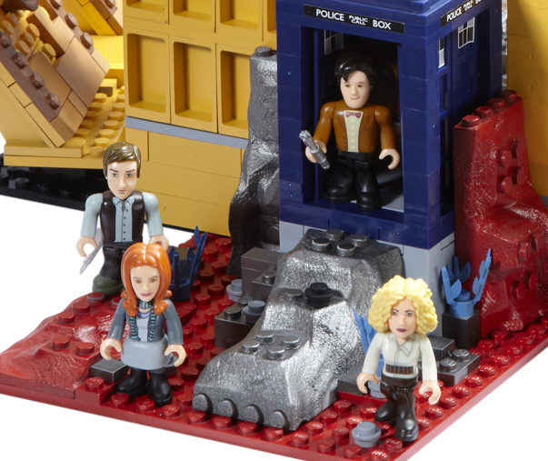 Character Building Tardis Console Room Set