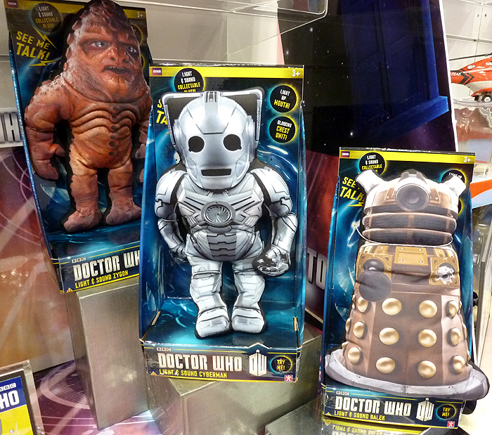 Character Options Doctor Who Plush
