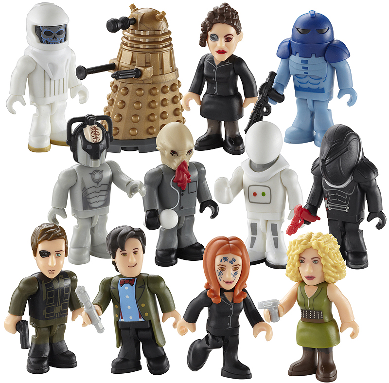Character Building Series 3 Micro Figures