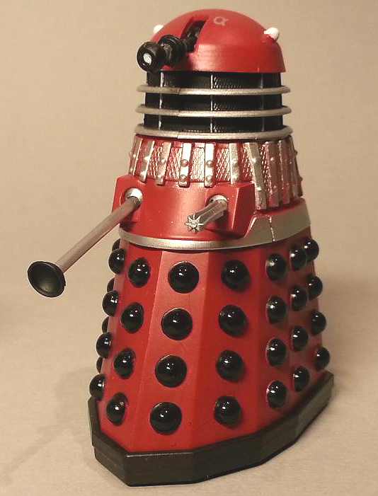 Red Dalek from Children of the Revolution Dalek Collector Set #1