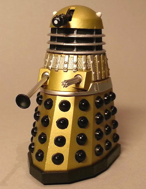 Gold Dalek from Children of the Revolution Dalek Collector Set #1