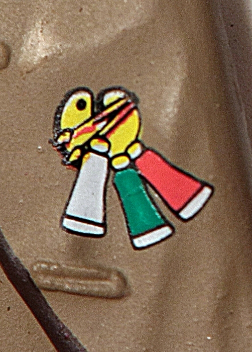 4th Doctor Lapel Detail - City of Death Set