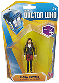 Wave 4 Clara Oswald in Cardigan and Red Skirt Figure