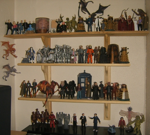 Clive's Doctor who Action Figure Collection - Thanks Clive