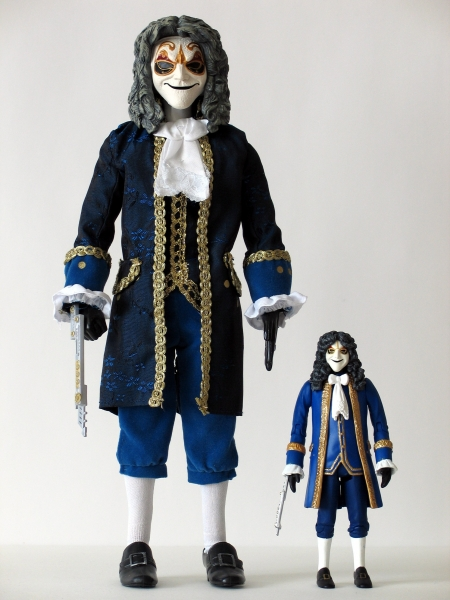 Clockwork Man 12 Inch and 5 Inch Action Figures