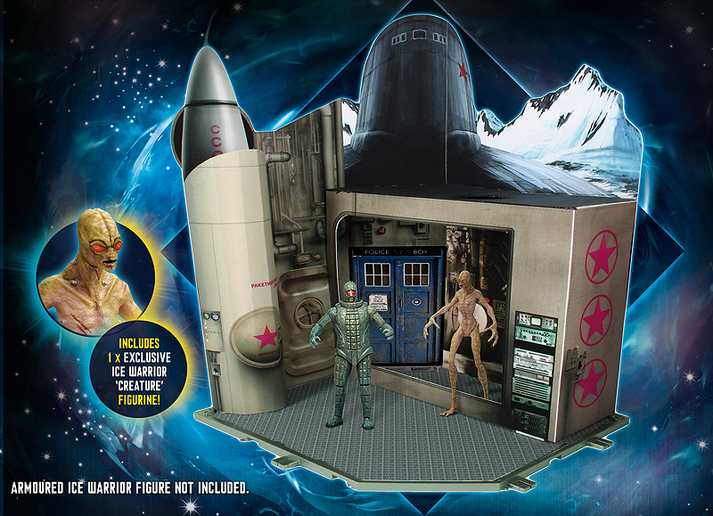 Doctor Who Time Zone Cold War Playset