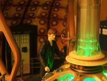 The Doctor in the Console Room