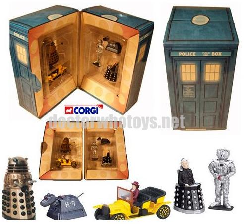 Corgi Doctor Who Toys and Figures