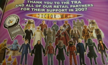 Character Options Message to the Toy Retailers Association & Boys Collectable Toy of the Year 2008 Rosette - Thanks Matt
