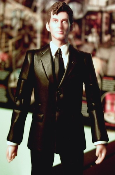 Doctor in the Master's suit Custom Figure