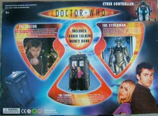 Rise of the Cybermen bootleg back view