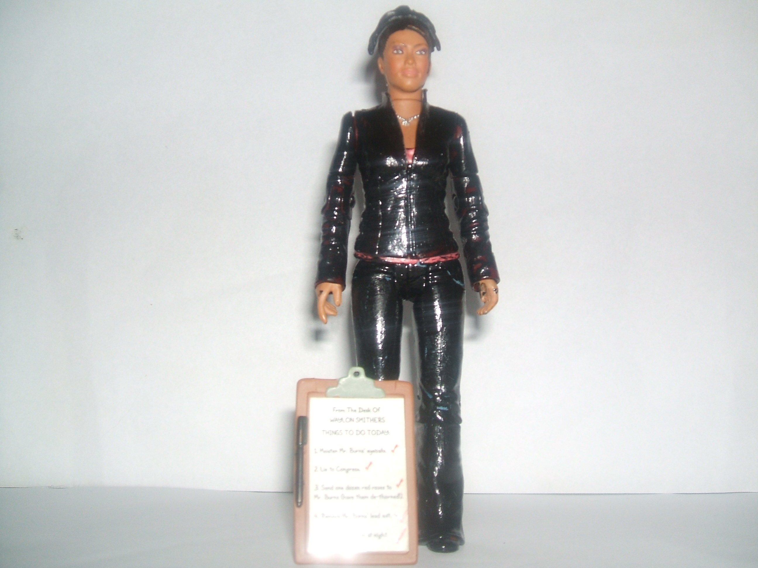 Doctor Who Custom Action Figure - Torchwood Martha with Clipboard Accessory