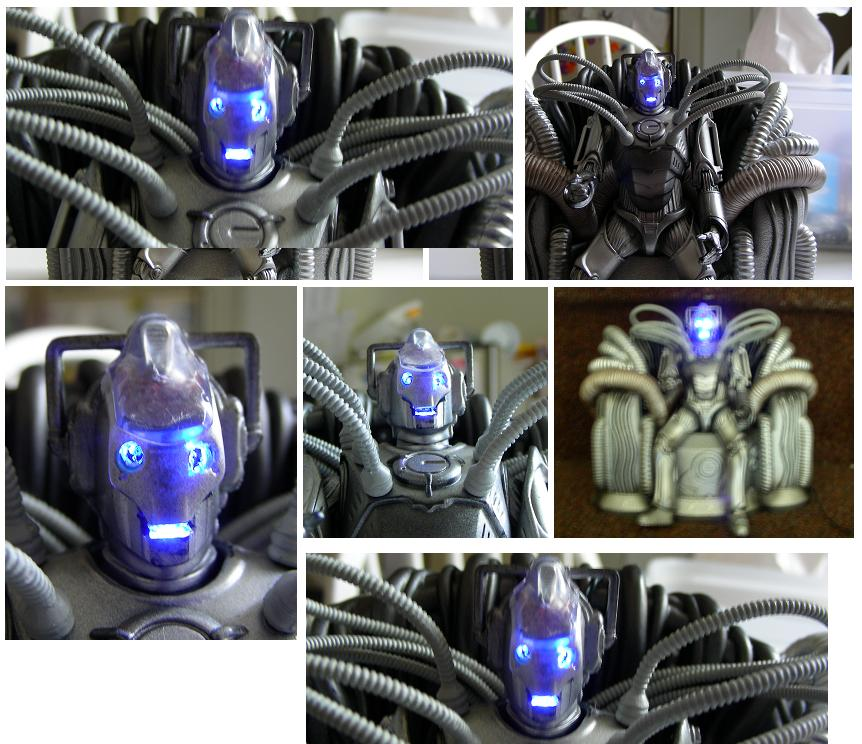 Customized Doctor Who Toy Cyber Controller