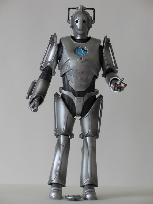 Cyber Leader 12 Inch Action Figure with Detacheable Chest Plate and EMP Device