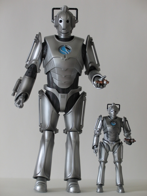 Cyber Leader 12 Inch and 5 Inch Action Figures